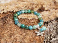 Tender Ocean Sky Blue Marine Azure Mint Stackable by ByLEXY