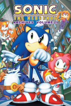 ON SALE TODAY: Sonic Archives 21 graphic novel! Get it at your local comic shop!