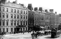 Buyenlarge Dublin Sackville Street, Ireland by George Morrison Photographic Print Size: Old Images, Old Pictures, Old Photos, Dublin Street, Dublin City, Irish Independence, Ireland Pictures, Photo Engraving, Dublin Ireland