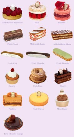 A Fateful Dissonance – Pastry rezepte French Desserts, Just Desserts, Dessert Recipes, Gourmet Desserts, French Food, Paris Food, French Patisserie, Cupcakes, French Pastries