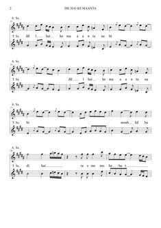 Keyboard Sheet Music, Violin Sheet Music, Sheet Music Book, Music Sheets, Music Books, Easy Piano, Bollywood, Guitar, Mugs