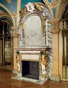 Extraordinary mantel by Jules Allard et Louis Ardisson coming from the Berwind Estate, New York