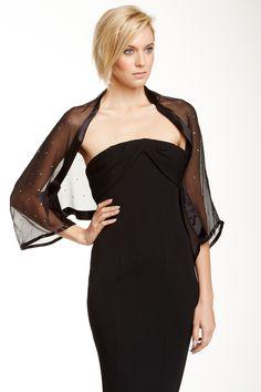 Giorgio Armani Woman Jewel Detail Silk Shawl by Armani on @HauteLook