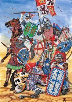 Batalla de Aljubarrota 1385.