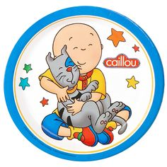 Caillou party plates#Repin By:Pinterest++ for iPad#