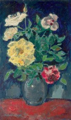 Kees van Dongen, Vase de roses