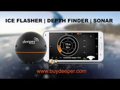 Deeper   Smart Fishfinder   iOS   Android   Wireless Sonar   Portable sonar