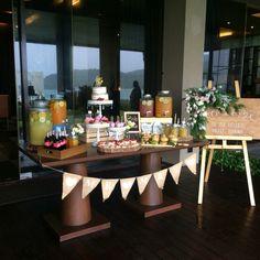 wedding cake dessert buffet at impiana