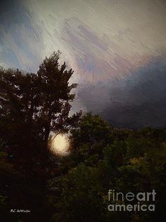 """""""Misty Moonrise"""" ~ © 2015 RC deWinter ~ All Rights Reserved"""