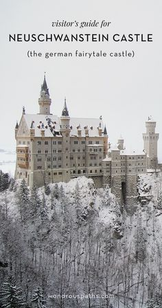 Visitor's Guide for Neuschwanstein Castle in Bavaria, Germany | Wondrous Paths
