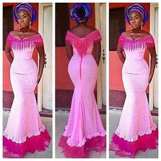 Dress Inspiration pic via @t16worldoffashion #dressinspiration #pink #tradlookinspiration #owanbelook