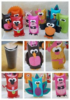 10 Cutest DIY Toilet Paper Roll Crafts - For Kids Diy Paper Crafts 10 diy toilet paper roll crafts Crafts For Kids To Make, Diy Crafts For Kids, Crafts To Sell, Fun Crafts, Kids Diy, Cork Crafts, Beach Crafts, Resin Crafts, Toilet Roll Craft