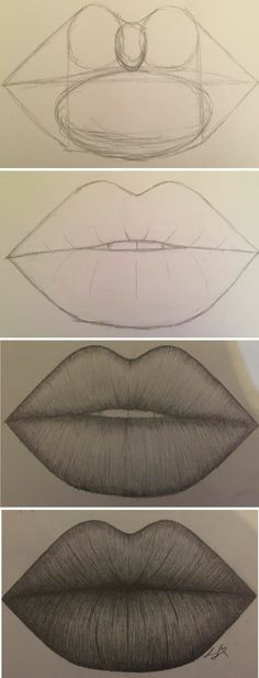 I have the hardest time drawing lips and eyes.. Hopefully something like this will help.