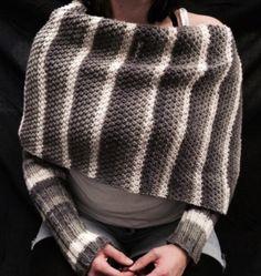 "wärmender ""sleeve wrap"" (Ärmelschal) von live life cosy auf DaWanda.com"