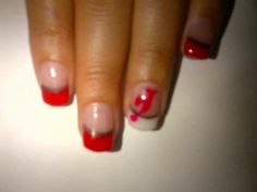 think hers are too small to do this though! Let's GO DEVILS ! Beauty Makeup, Hair Beauty, Women's Hockey, Devil, Skincare, Make Up, Nail Art, Nails, Finger Nails
