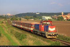 RailPictures.Net Photo: 714.216 CD - Ceske Drahy 714 at Praha Ruzyne, Czech Republic by Michal Pecanka