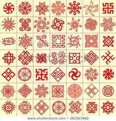 icons with Slavic pagan symbols for your design. Pagan Symbols, Ancient Symbols, Ancient Art, Slavic Tattoo, Cursive Alphabet, Geometric Symbols, Symbolic Tattoos, Signs, Sacred Geometry