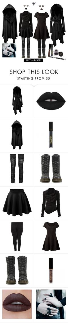 """Hooded"" by vic-mazonas ❤ liked on Polyvore featuring Missoni, Dr. Martens and MARC LE BIHAN"