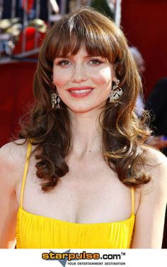 Saffron Burrows... has appeared in such films as In the Name of the Father (1993), Circle of Friends (1995), Deep Blue Sea (1999), Enigma (2001), Troy (2004), Reign Over Me (2007) and The Bank Job (2008), as well as starring as Lorraine Weller on Boston Legal (2007–2008), Dr. Norah Skinner on My Own Worst Enemy (2008) and Detective Serena Stevens on Law & Order: Criminal Intent.  Still hot at 41.
