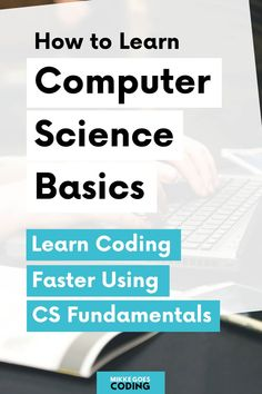 Learning coding can feel difficult in the beginning. Understanding Computer Science basics can help you learn coding faster and more easily. Learn Coding Online, Learn Computer Coding, Learn Computer Science, Computer Basics, Learn Science, Computer Tips, Learn Programming, Computer Programming, Programming Languages