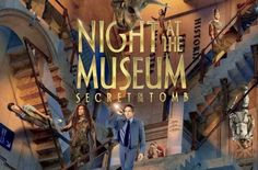 NIGHT AT THE MUSEUM: SECRET OF THE TOMB [PG] 97 min - Adventure | Comedy Larry spans the globe, uniting favorite and new characters while embarking on an epic quest to save the magic before it is gone forever. Director: Shawn Levy Writers: David Guion (screenplay), Michael Handelman (screenplay), Stars: Ben Stiller, Robin Williams, Owen Wilson
