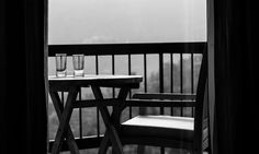 Emptiness sometimes gives the clarity one needs in life --- Empty chair and Empty glasses by Ashish verma