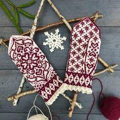 Loom Knitting, Knitting Socks, Free Knitting, Knitting Patterns, Crochet Patterns, Knitted Mittens Pattern, Knit Mittens, Knitted Gloves, Yarn Projects