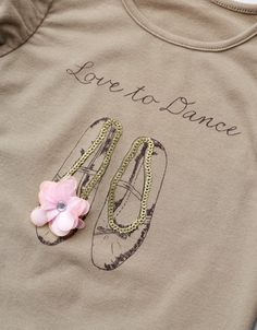 BALLET SHOES T-SHIRT - T-shirts - Girl (2-14 years) - Kids - ZARA