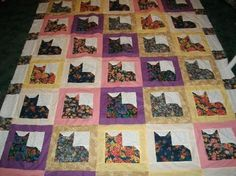 Cat Quilt -- Need This!!! :)