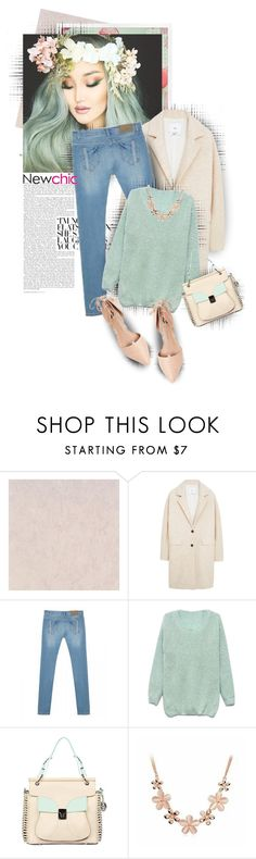 """""""Newchic"""" by jiabao-krohn ❤ liked on Polyvore featuring MANGO and Ava & Aiden"""