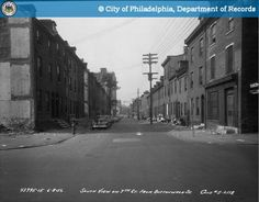 PhillyHistory.org - South view of 7th st from Buttonwood St