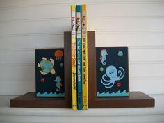 Book Ends for ChildrenNursery Room Decor  by RessieLillian on Etsy, $48.00