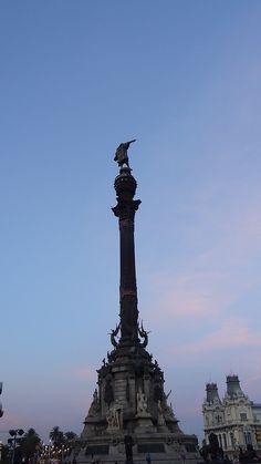 Monument a Colón, Barcelona