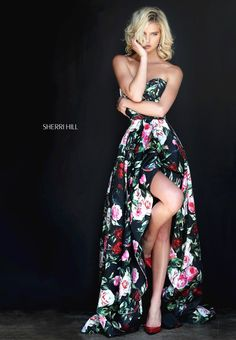 You have been sent a photo from Sherri Hill's Spring 2017 collection via the Sherri Hill mobile application.