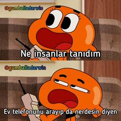 Baba Kral 🤴 be Cartoon Memes, Funny Cartoons, Funny Comics, Stupid Funny Memes, Funny Relatable Memes, Neon Words, Best Memes Ever, World Of Gumball, Funny Times