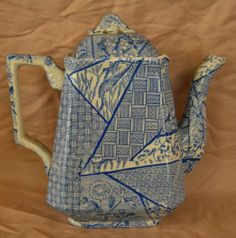 Image detail for -BLUE AND WHITE TEAPOT