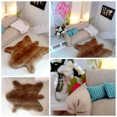 Animal rug - DIY ideas