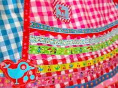 ribbons patchwork by farbenmix.de, #farbenmix #ribbons #sewing #handmade