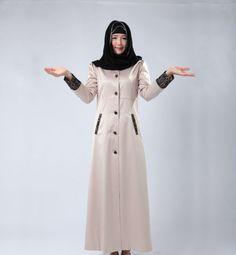 2. awesome coat style abaya design
