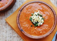 Vegan Tomato Bisque with Grilled Corn and Pasilla Peppers Recipe - RecipeChart.com