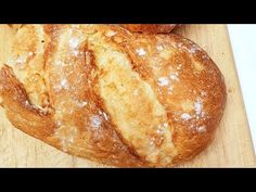 Pan casero muy fácil de preparar. con harina de trigo. - YouTube Baguette, Sandwiches, Good Food, Bread, Cooking, Recipes, Youtube, Videos, Blog