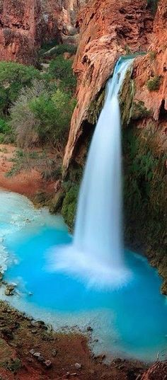 Grand Canyon Falls. USA