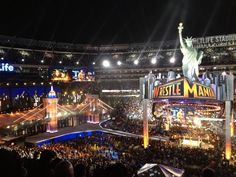 My seat at Awesome time there w/ cousin. Wwe Events, Broadway Shows, Basketball Court, Awesome, Fun, Travel, Viajes, Destinations, Traveling