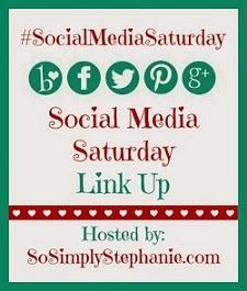 #SocialMediaSaturday Social Media Saturday #3 has officially started! Stop by and link up your Pinterest, blog, Twitter, Facebook & Bloglovin links to get more followers and find awesome new blogs to network with!  This week's link-up will end on 1/28/14!