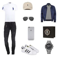 """""""men"""" by feab on Polyvore featuring Polo Ralph Lauren, TIGHA, adidas, Breguet, Michael Kors, Native Union, Alexander McQueen, Gucci, men's fashion and menswear"""