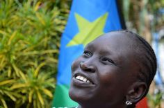 Former refugee  and South Sudanese supermodel Alek Wek's journey home.