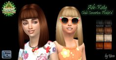 Sims 4 CC's - The Best: Hair for Girls by My Sims Stuff