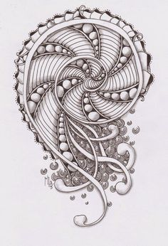 #zentangle sfida | Studio ML: