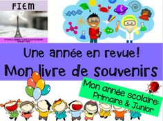Celebrate the end of the school year with your students!... in a fun way! You all deserve it.This resource is ready to PRINT and USE as an ACTIVITY PACKAGE! Each new page has a different theme: you can pick and choose what you want to celebrate. Spread the activities over a couple of weeks and have fun! Literacy, Have Fun, Students, Couple, French, Activities, School, French Language, Couples