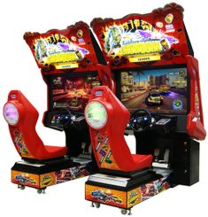 Racing Video Arcade Machines / Driving Arcade Games and Speed Boat Racing Games For Sale S-Z From BMI Gaming Arcade Games For Sale, Arcade Game Room, Cheese Game, Rush Games, Arcade Console, Twin Models, Video Game Development, Cute Pens, Arcade Machine